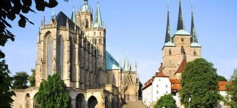 Reise auf den Spuren Martin Luthers, Dom und Severi, Erfurt Tourismus und Marketing GmbH/Barbara Neumann