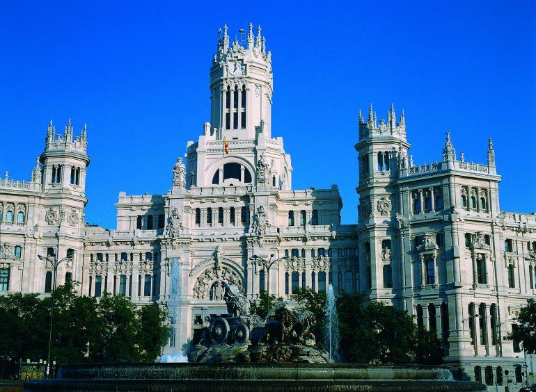 Madrid-Fuente-de-Cibeles © Institut für Tourismus in Spanien (TURESPAÑA)