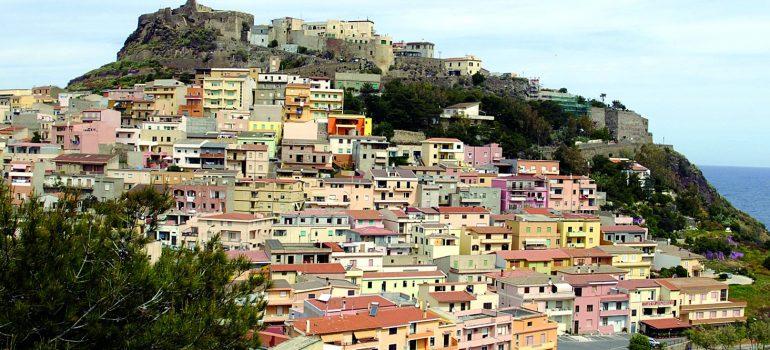 Sardinien Wanderreise: Castelsardo-www.italiafoto.de