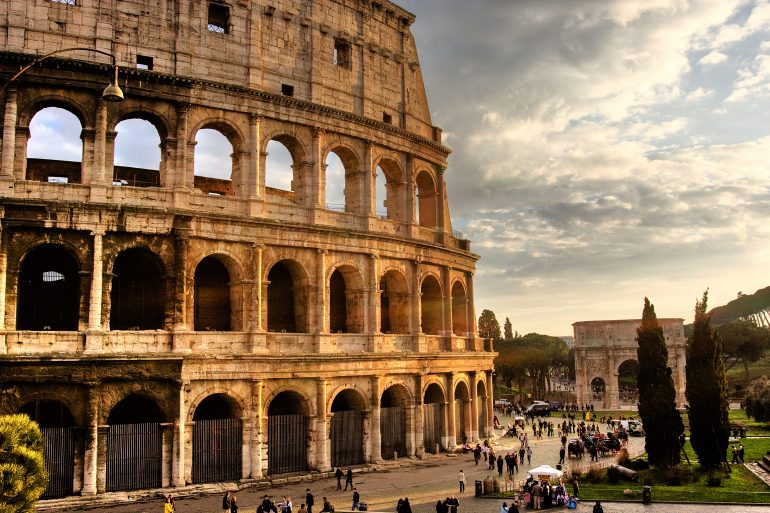 Rom, Colosseo, Fotolia_6100575_XL_alexmarchese