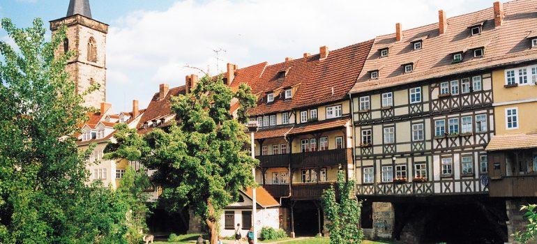 Reise auf den Spuren Martin Luthers Krämerbrücke, Erfurt Tourismus und Marketing GmbH/Barbara Neumann