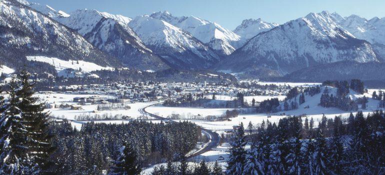Besinnliche Adventsreise: Oberstdorf im Winter