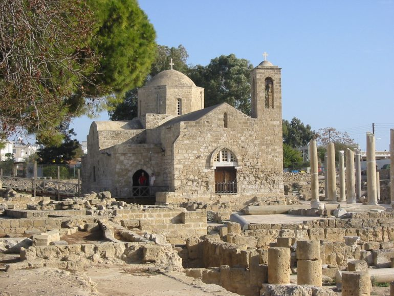Paphos-Kirche-Chrysopolitissa