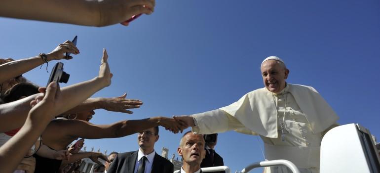 Papstaudienz Rom