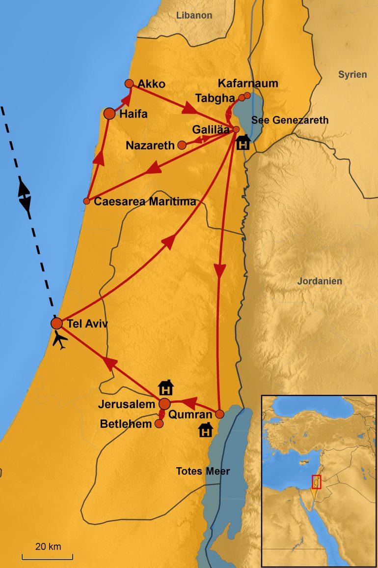 stepmap-karte-israel-geruhsam-entdecken