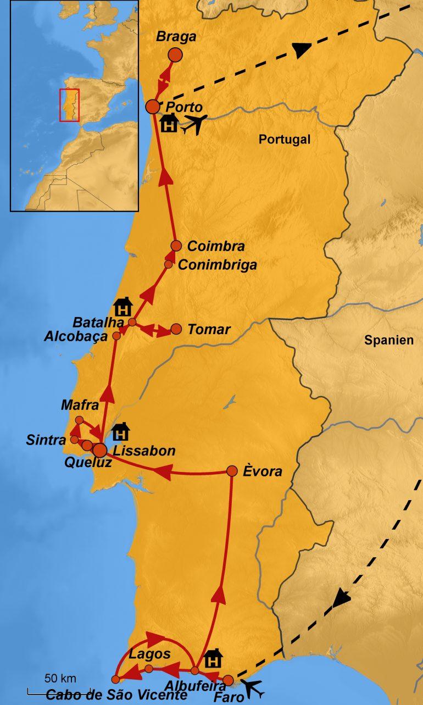 stepmap-karte-portugal