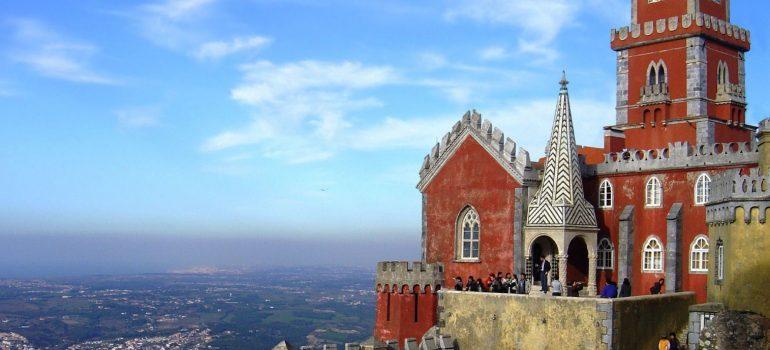 Sintra, Nationalpalast Pena, Portugal, Housond (http://bto.de/CCBYSA3), Gruppenreise Portugal, Zubucherreise, Arche Noah Reisen
