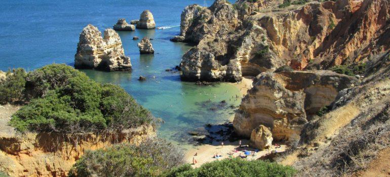 Typische Küstenlandschaft, Housond (http://bto.de/CCBYSA3), Algarve, Portugal, Gruppenreise, Arche Noah Reisen