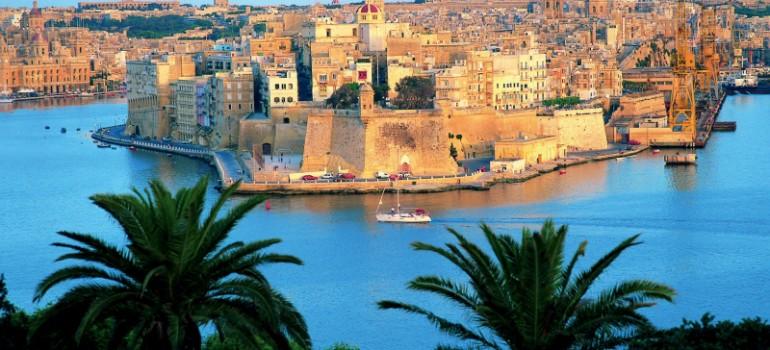 Senglea Blick von Valletta, Fremdenverkehrsamt Malta, Gruppenreise Malta, Arche Noah Reisen