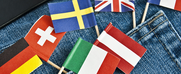 Arche Noah Reisen, Länderfahnen, sicher unterwegs, Reiseveranstalter Gruppenreisen