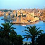 Senglea Blick von Valletta - Bildquelle: Fremdenverkehrsamt Malta