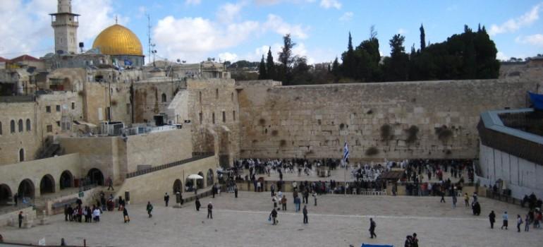 Jerusalem Klagemauer, Gruppenreise Israel, Ostern im heiligen Land