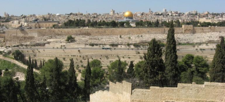 Ölberg, Gruppenreise Jerusalem, Kombination Türkei Israel, Arche Noah Reisen