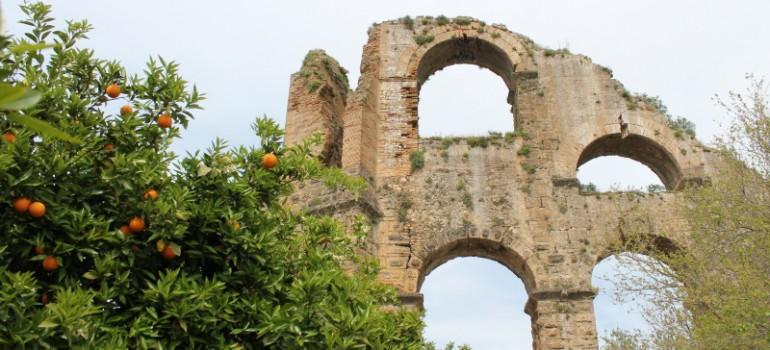 Aspendos, Reise für Pfarrei, Pilgerreise organisieren, Arche Noah Reisen