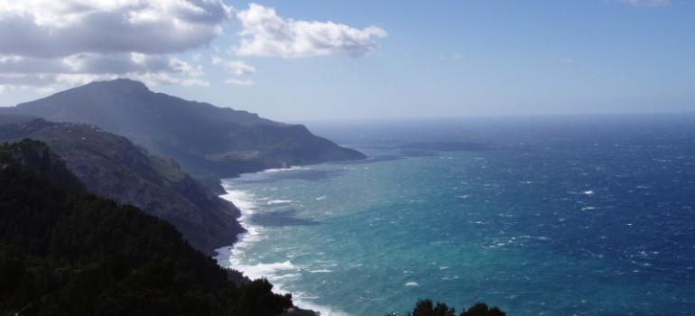 Meerblick Mallorca, Reiseprogramm Pilgerreise, Arche Noah Reisen
