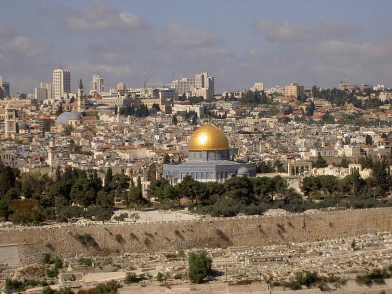 Blick vom Ölberg, Israelreisen, Reise in Gruppe, Arche Noah Reisen