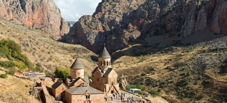 Armenien, Kloster Noravank, Gruppenreise Armenien, Reise für Pfarrei, Arche Noah Reisen