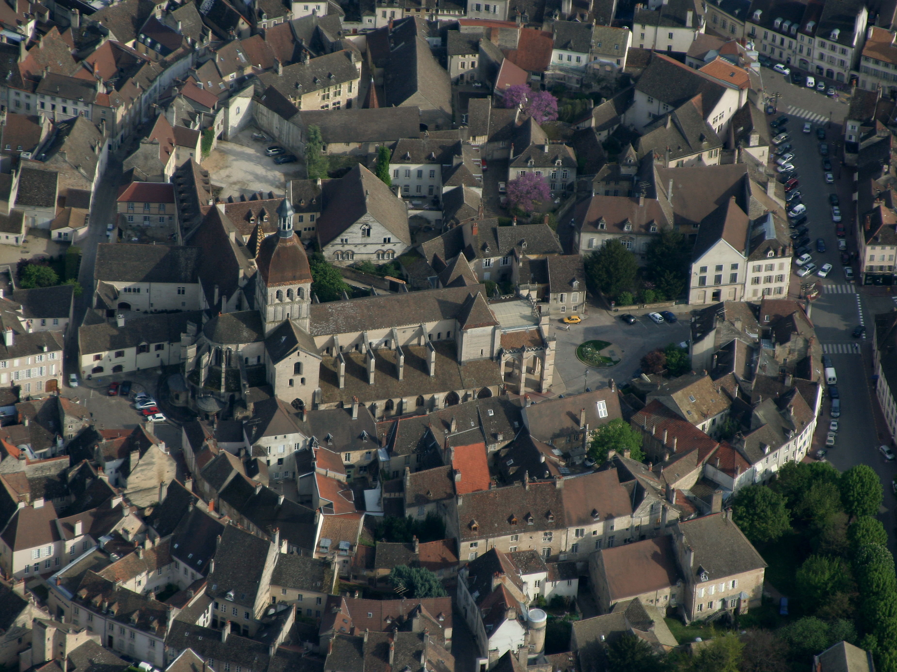 Photo De La Ville De Beaune