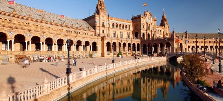 Sevilla- Plaza de España, © Todos los derechos Instituto de Turismo de España (TURESPAÑA), Studienreise Andalusien, Arche Noah Reisen