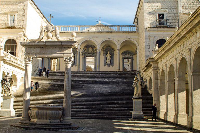Abtei Montecassino, www.pixabay.com, bedeutendes Kloster Golf von Neapel, Organisierte Gruppenreise, Arche Noah Reisen