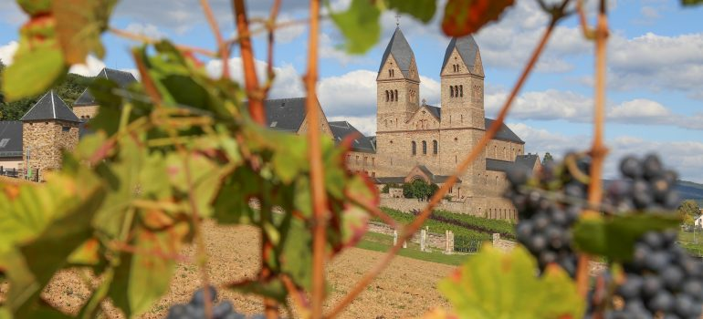 Abtei St. Hildegard - Abtei St. Hildegard, Rüdesheim - Eibingen, Tagesfahrt mit dem Bonner Münster-Bauverein