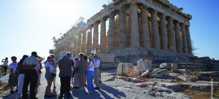 Acropolis_photo G Vitsaropoulos, Ministerium für Kultur und Tourismus, Griechische Zentrale für Fremdenverkehr, Gruppenreise Griechenland, Pilgern Griechenland, Arche Noah Reisen
