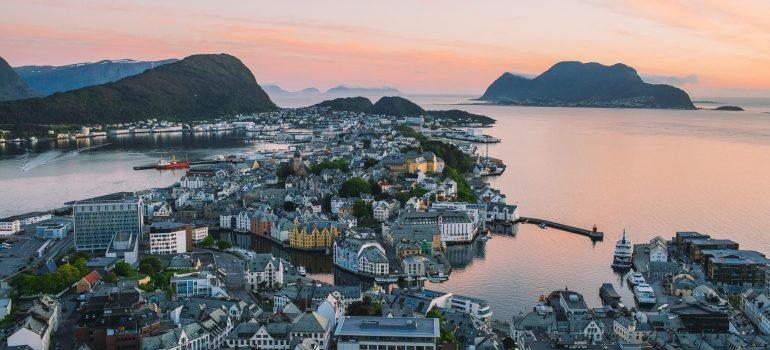 Aksla Utsiktspunkt Alesund, Fotograf: Samuel Taipale / Taipalebrothers, visitnorway.com