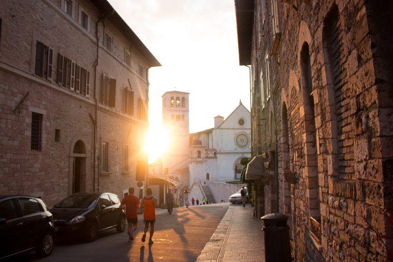 Assisi, Sonnenuntergang, www.pixabay.com
