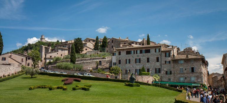 Assisi, Stadtansicht, www.pixabay.com