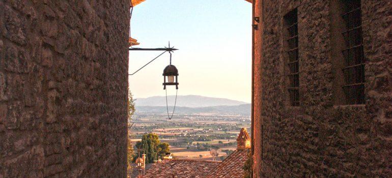 Assisi am Abend, www.pixabay.com