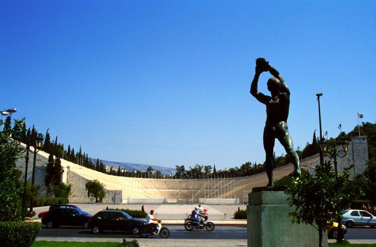 Panathenaeisches Stadion, , Ministerium für Kultur und Tourismus, Griechische Zentrale für Fremdenverkehr