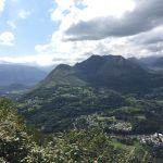 Ausblick Pyrenäen vom Pic du Jer, Foto Daniela Welter, Arche Noah Reisen