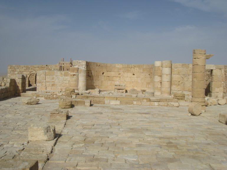 Avdat, Gruppenreise mit Pfarrer, Pilgern Israel, Pilgereise Heiliges Land, Arche Noah Reisen