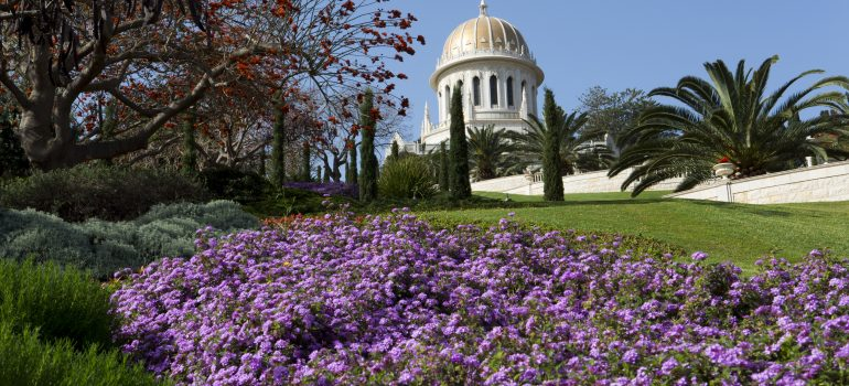 Bahai Gardens and Temple in Haifa by Itamar Grinberg_Fremdenverkehrsamt, Pilgern Israel