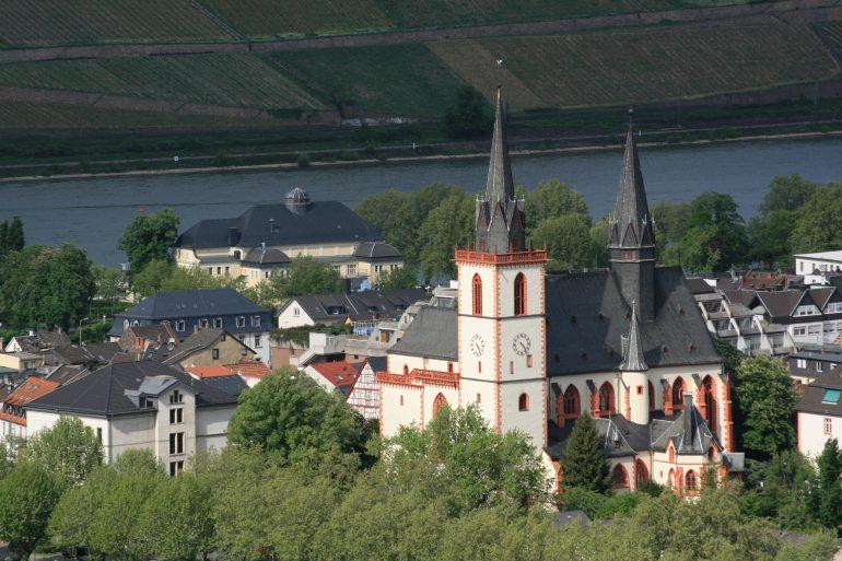 Basilika St. Martin - Tourist-Information Bingen am Rhein, Tagesfahrt Bingen