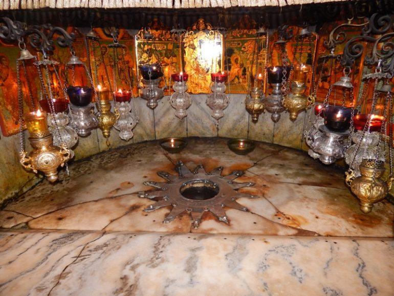 Bethlehem Geburtskirche, Foto: Michelle Fischer, Pilgerreise Israel, Organisation Pilgerreisen , Arche Noah Reisen