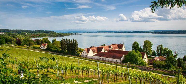 Bodensee, Ausblick vom Kloster Birnau, www.pixabay.com, Pilgerreise Bodensee, Arche Noah Reisen