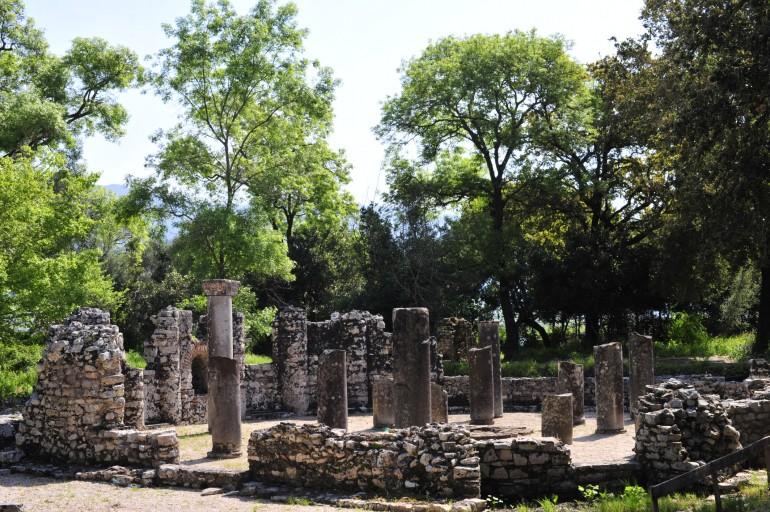 Butrint - Baptisterium