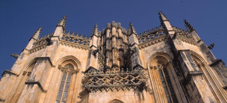 Capelas Imperfeitas, Mosteiro de Santa Maria da Vitoria, Batalha; Antonio Sacchetti, Pilgerreise Portugal