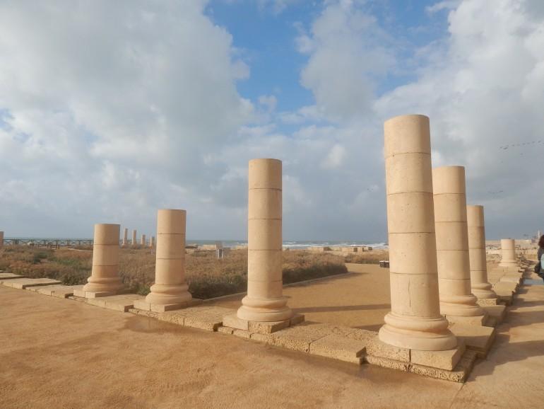 Caesarea, Foto: Michelle Weiß, Gruppenreise Israel 2019