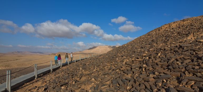 Dafna-Tal, Negev-Wüste, Ramon-Crater, Foto: Fremdenverkehrsamt