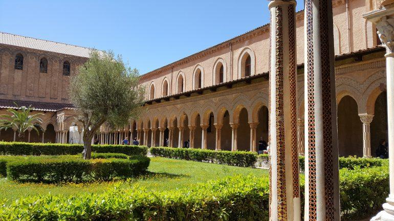Dom von Monreale - Kreuzgang, Reisen in kleiner Gruppe, Rundreise Sizilien
