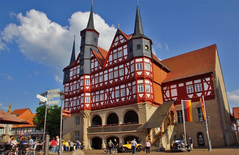 Duderstadt Rathaus, HVE Eichsfeld Touristik e.V., Gruppenreise Deutschland