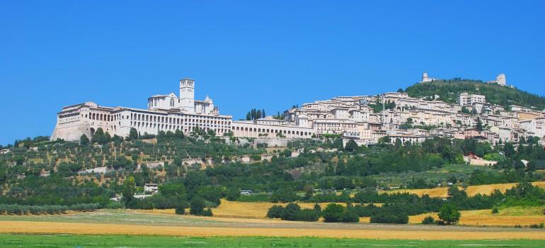 Umbrien, Assisi, www.italiafoto.de, Pilgerwandern, Pilgerreise Umbrien, Gruppenreise Assisi, Arche Noah Reisen