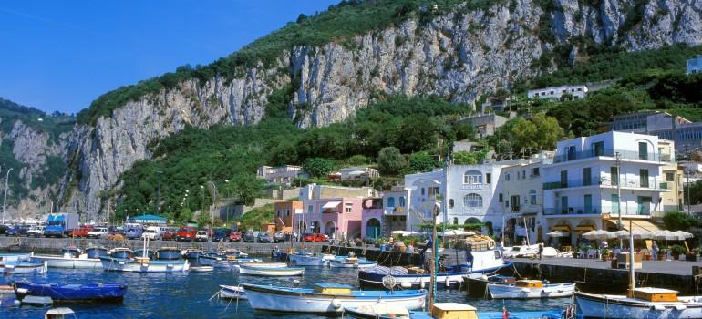 Hafen von Marina Grande, www.italiafoto.de, Peter Eckert, Gruppenreise Apulien, Gruppenreise Kampanien, Arche Noah Reisen