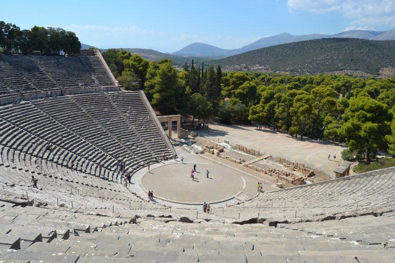 Epidaurus, www.pixabay.com, Gruppenreise mit Heiliger Messe, Pilgern Griechenland
