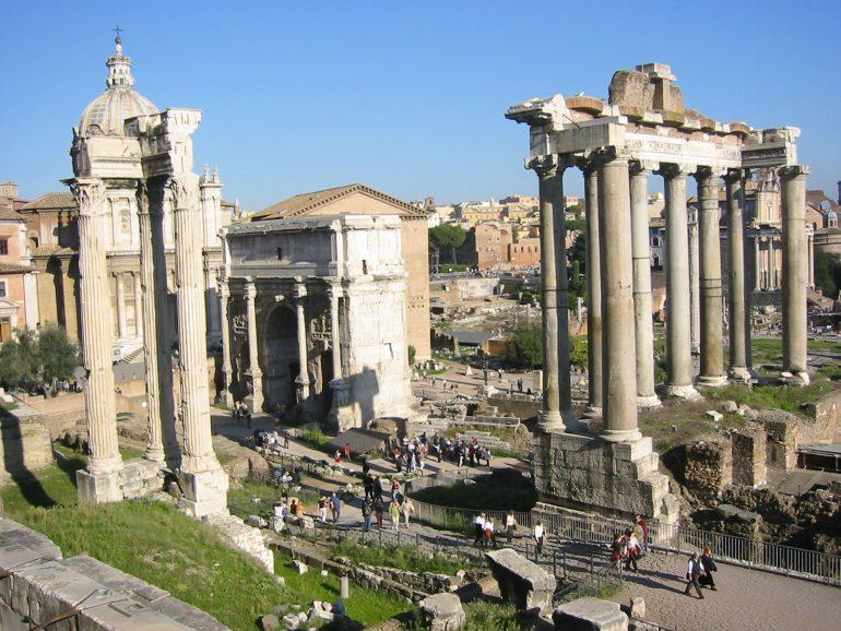 Rom, Forum Romanum, Gruppenreise mit allem drin, Romreise 2019