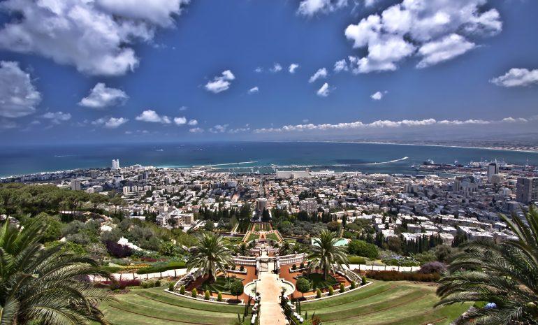 Hanging garden - Haifa - Israel, Fotolia_24028560_XL_DazGee