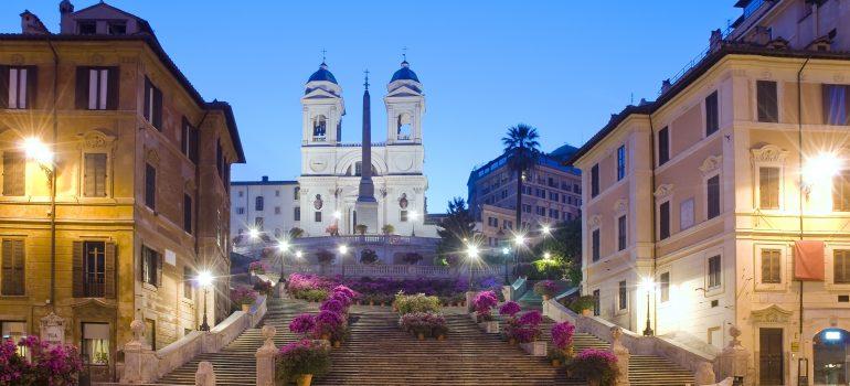Primavera a Trinità dei Monti, Piazza di Spagna, Rom, Fotolia_24518700_XL_fabiomax