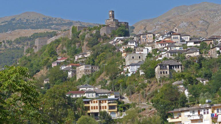 Gjirokastra, Stadt der Steine, Pilgerreise Albanien, Albanien mit Reiseleitung, Arche Noah Reisen